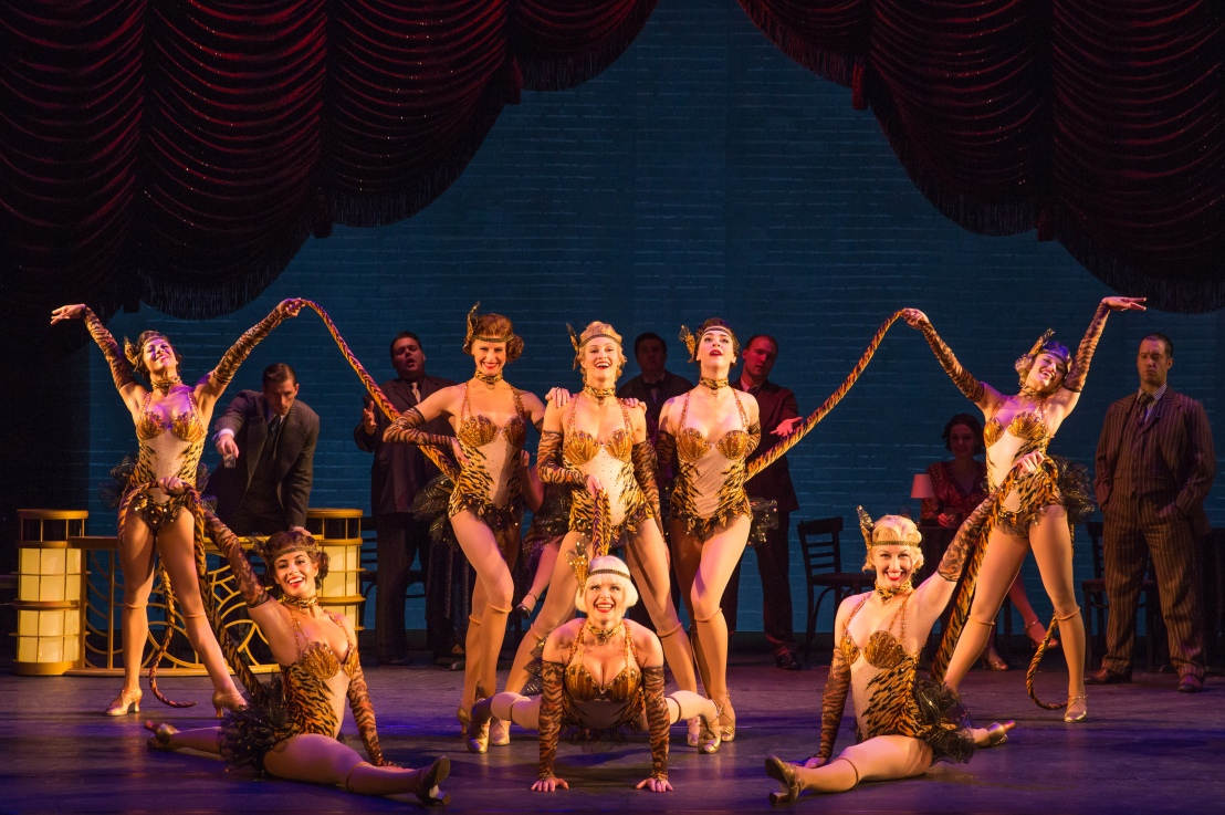 BULLETS OVER BROADWAY Presented by Broadway in Chicago