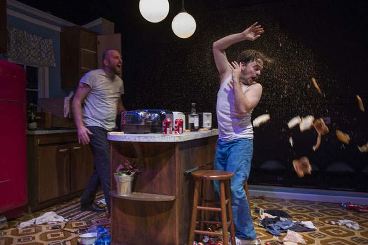 Sharp, Intense TRUE WEST at Shattered Globe