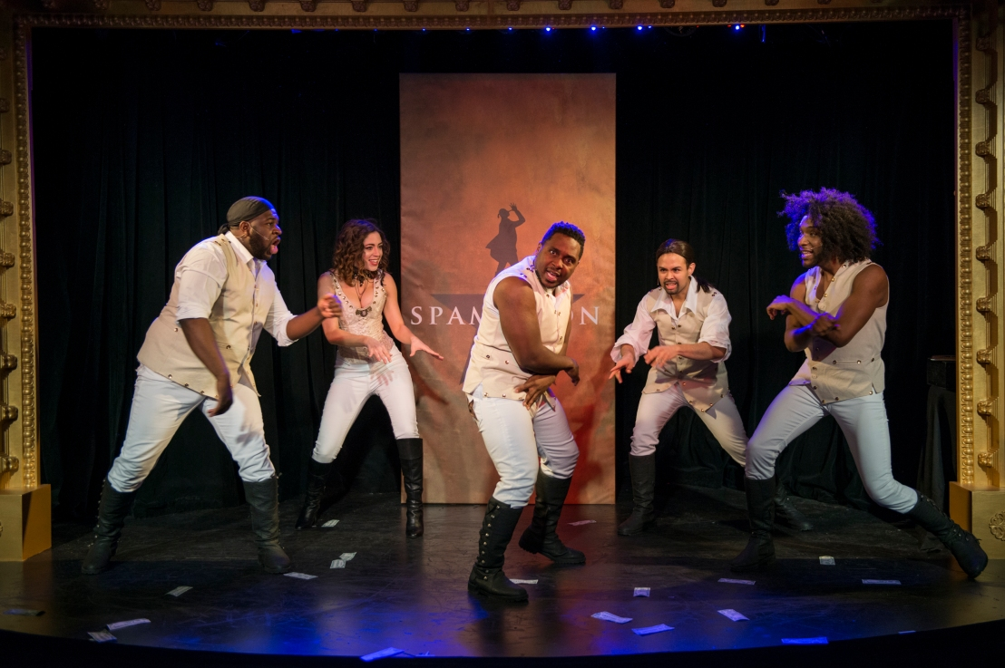 At SPAMILTON, The Laughs AreNon-Stop