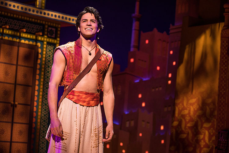 ALADDIN Charms With Tons of Stage Magic and Catchy Musical Numbers