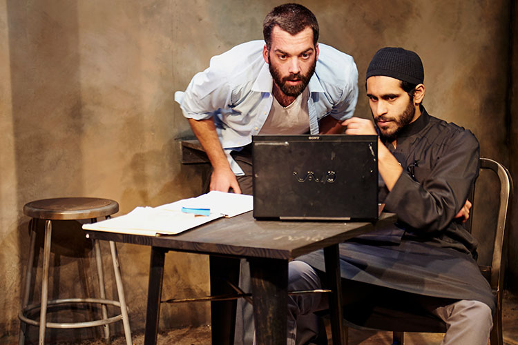 Review: THE INVISIBLE HAND at Steep Theatre Company