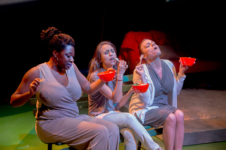 Review: WOMEN LAUGHING ALONE WITH SALAD at TheaterWit
