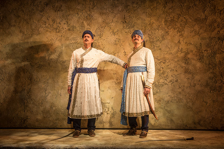 GUARDS AT THE TAJ at Steppenwolf