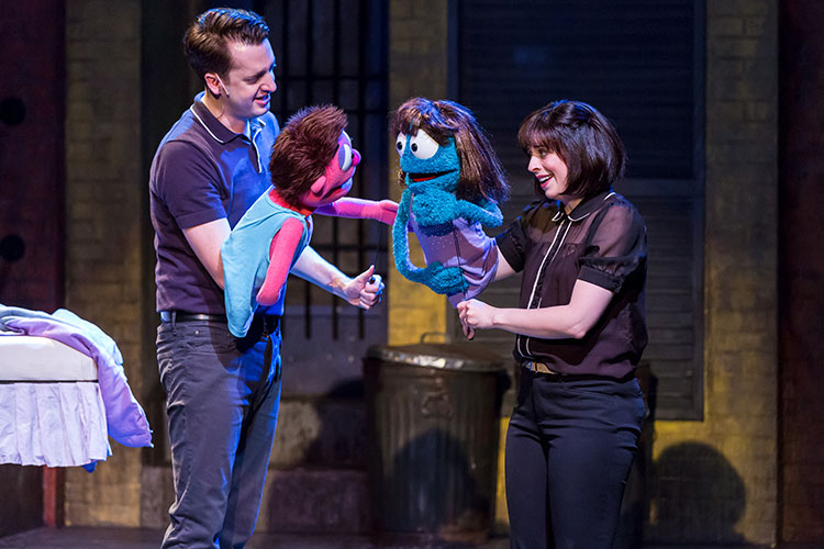 AVENUE Q at Mercury Theater Has Big Laughs and A Bigger Heart