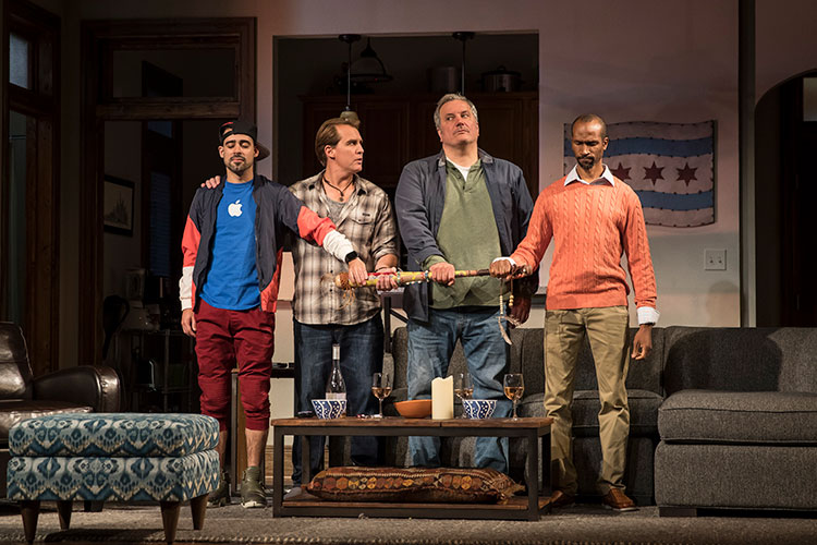 Review: SUPPORT GROUP FOR MEN at Goodman Theatre