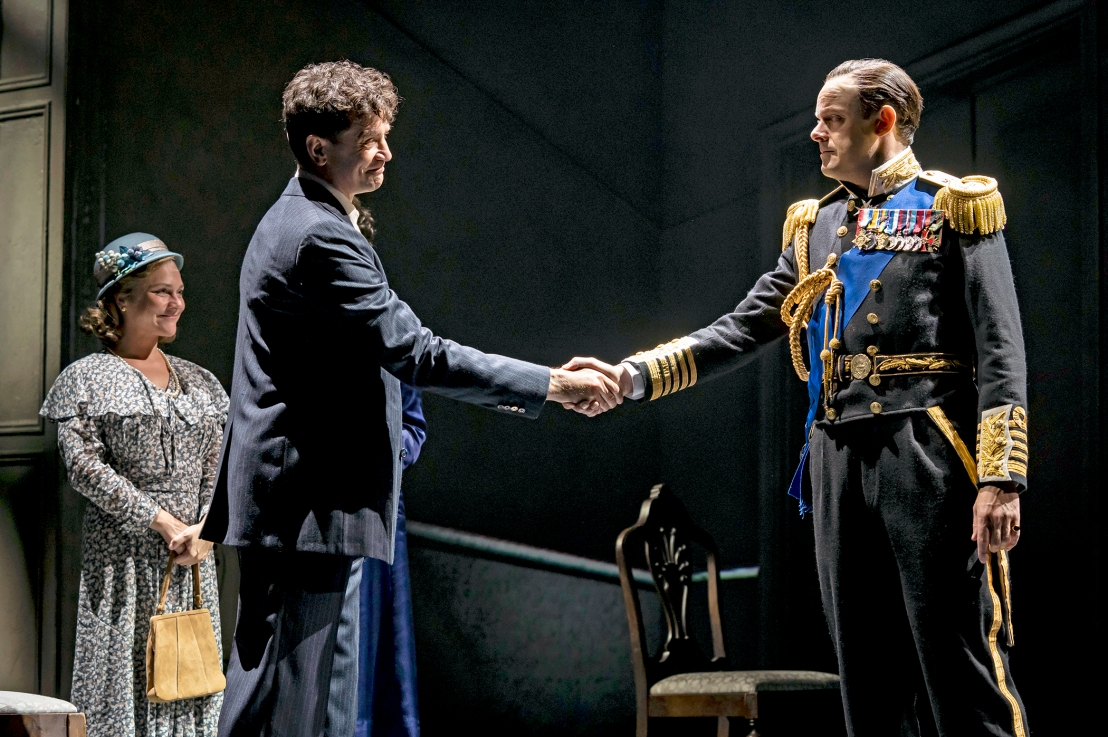 Review: THE KING'S SPEECH at Chicago Shakespeare Theater